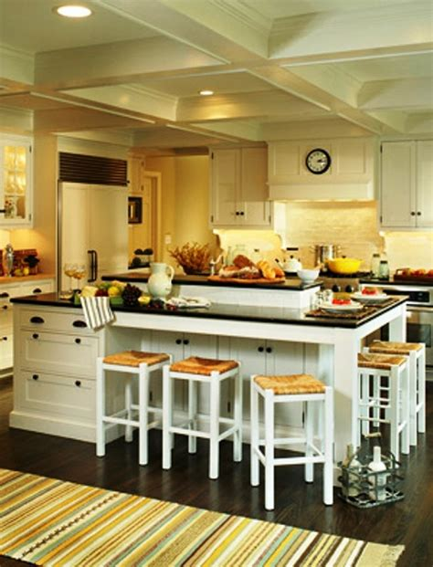 Awesome Kitchen Island Designs To Realize Well Designed Kitchen Table Island Ideas