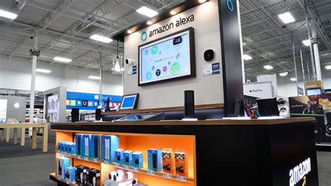 the home technology store best buy giving amazon and google store space to show