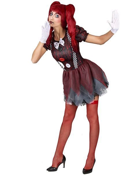 Creepy doll costume for women: Adults Costumes,and fancy