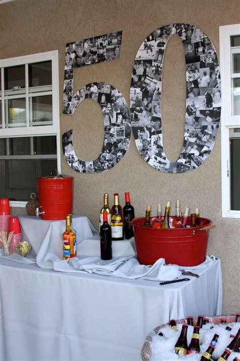 50th birthday party ideas for men tool theme