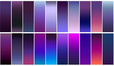 illustrator pattern with gradient free photoshop gradient pack 20 purple gradients by