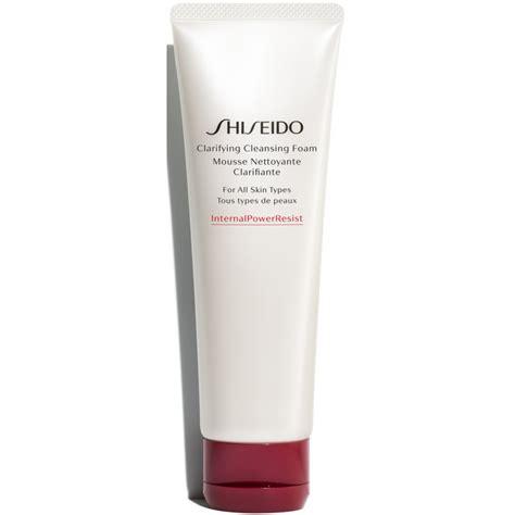 Shiseido Cleansing Foam shiseido clarifying cleansing foam all skin types 125 ml