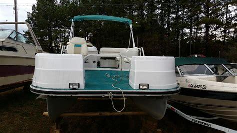landau pontoon 2000 for sale for 750 boats from usa - 2000 Landau Pontoon Boat