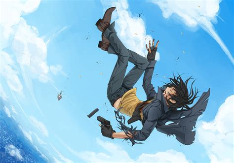 Anime Art Falling The Gallery For Gt Anime Girl Falling And Reaching Out