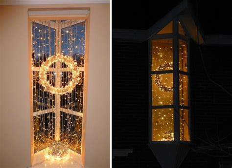 hanging christmas lights in windows easy 34 awesome indoor decoration inspirations godfather style