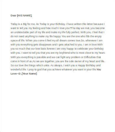 birthday letter to boyfriend letter to boyfriend 9 free word pdf documents 1090