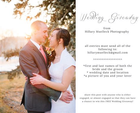 Wedding Contest And Giveaways 2014 - hillarymuelleck com bloghillary muelleck photography wedding giveaway