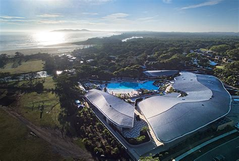 designboom ed thompson elements of byron resort by shane thompson architects is