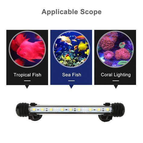waterproof led lights for fish tanks aquarium fish tank waterproof white blue rgb led smd light