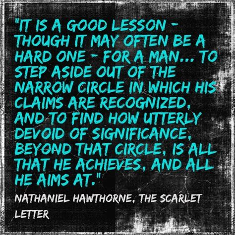 theme quotes from the scarlet letter nathaniel hawthorne the scarlet letter musings
