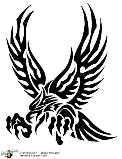 tribal eagle tattoos image result for tribal eagle tattoos