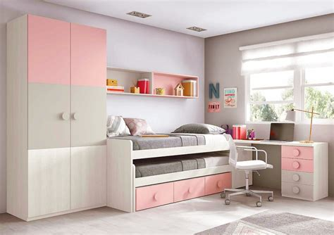 Rangement Chambre Fille Ado by Chambre Ado Fille Astucieuse Avec Lit Gigogne