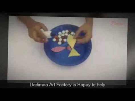 How To Make A Paper Aquarium - paper plate aquarium