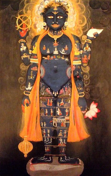 imagenes de dios vishnu la visi 243 n del tantra pintura y artistas