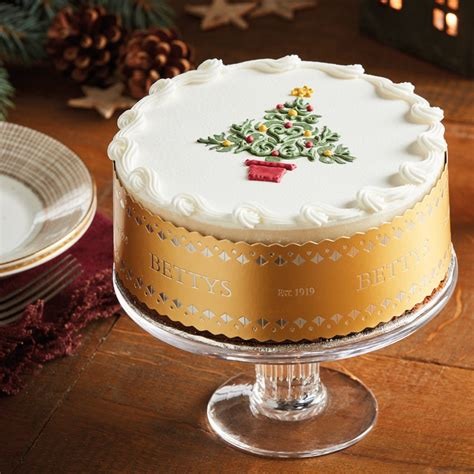 royal iced tree christmas cake bettys