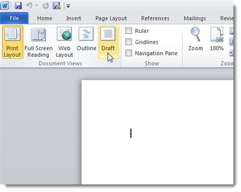 print layout view word 2007 how to speed up microsoft word 2007 and 2010