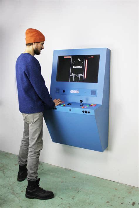 console arcade cabinet polycade arcade console the coolector