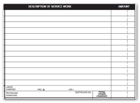 electrical material list template what should every hvac form