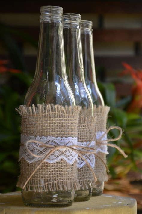 garrafas decoradas sisal garrafa decorada r 250 stica garrafas de vidro decoradas