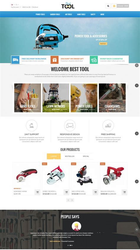 opencart templates responsive 15 popular auto parts open cart themes templates free