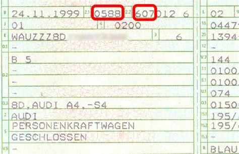 Motorrad Teile Nach Schl Sselnummer by Schl 252 Sselnummer Fahrzeugschein Fahrzeugsuche Nach Schl