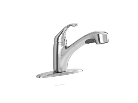 american standard pull out kitchen faucet american standard jardin single handle pull out kitchen