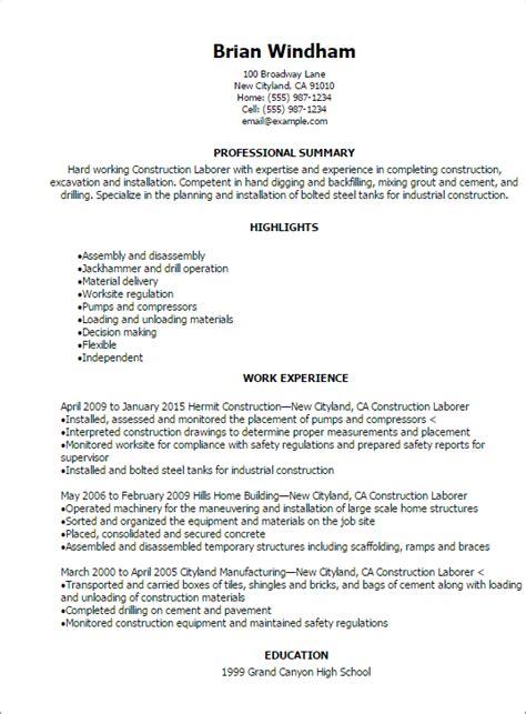 pleasing resume samples for landscaping job also resume laborer