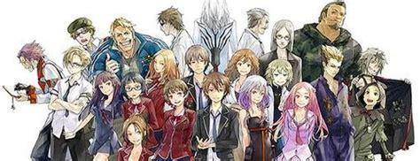 karakter anime guilty crown list of guilty crown characters