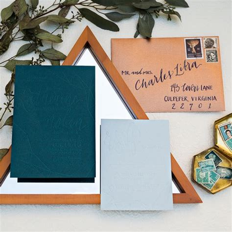 wedding invitations teal and copper 26 teal and copper wedding ideas to embrace the fall