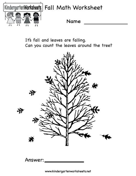 Free Fall Math Worksheets by 9 Best Seasonal Worksheets Images On Kid