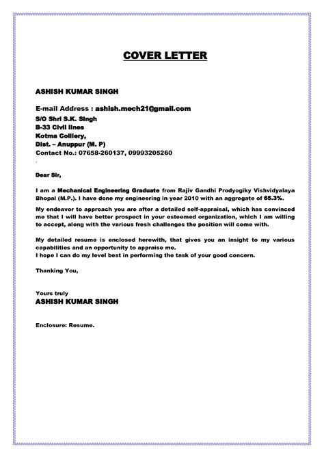 application letter for electrical engineer fresher graduate electrical engineer cover letter sle
