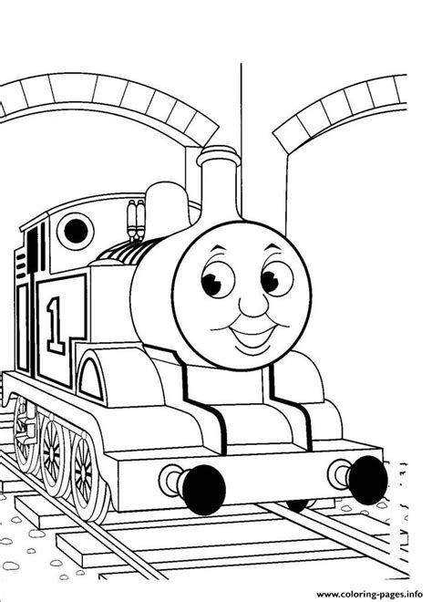 easy train coloring page kids easy thomas the train sd0cb coloring pages printable