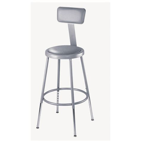 Heavy Stools by National Seating 6400 Series Adjustable Heavy Duty