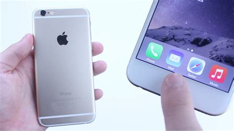iphone 6 touch id fingerprint scanner setup demo