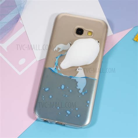 3d Silicone Tpu Phone For Iphone Samsung 3d squishy silicone seal sea pattern printing tpu