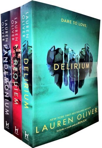 Requiem Delirium Trilogy oliver delirium trilogy 3 books collection set