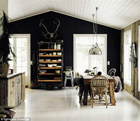 Banister Ball Interiors New Ways With Grey Daily Mail Online