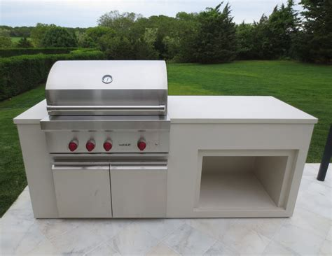 Outdoor Countertop Grills by Outdoor Kitchen Wolf Grill Unit Trueform Decor