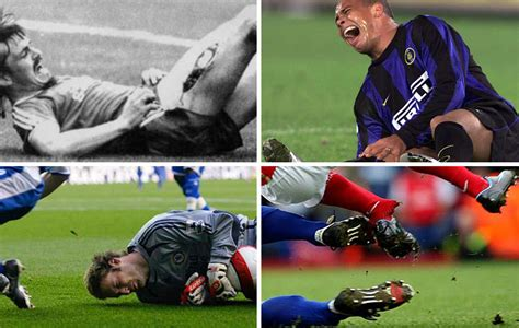 las imagenes mas emotivas del futbol the most disturbing injuries in football history marca