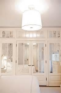 mirror closet doors for bedrooms antiqued mirrored doors contemporary bedroom