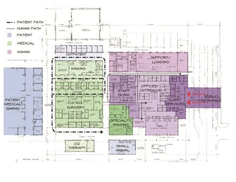 hospital floor plan design small hospital floor plan design