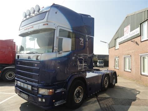 scania 164 480 6x2 tractor unit from netherlands for sale