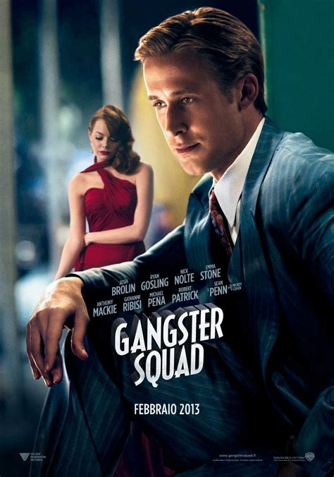 emma stone and ryan gosling film gangster squad i character poster di emma stone josh