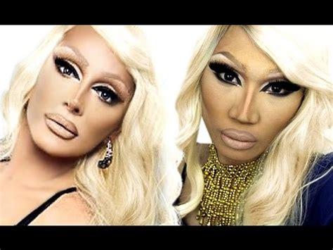 makeup tutorial raven queen raven drag queen makeup tutorial theprinceofvanity doovi