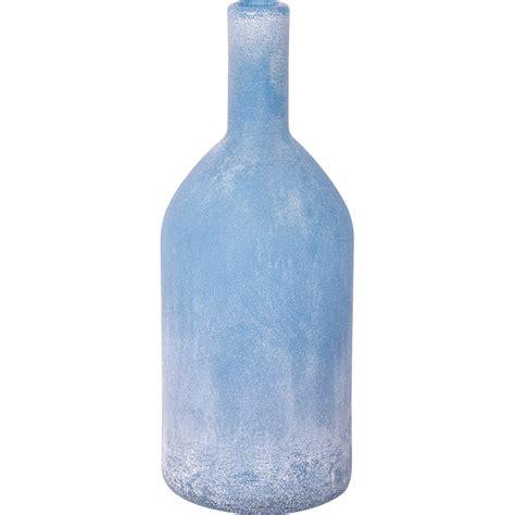 wohnung ideen 4667 hellblaue deko glasflasche gefrostet kaufen mare