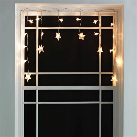 argos 6 star window christmas decoration lights