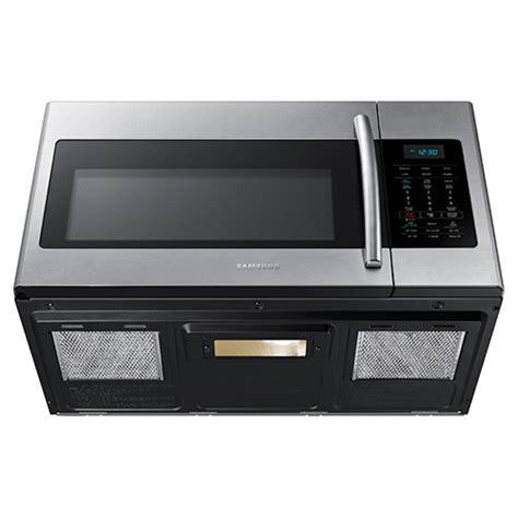 samsung the range microwave samsung 1 7 cuft 1000 watt stainless steel the range microwave oven me17h703shs aa