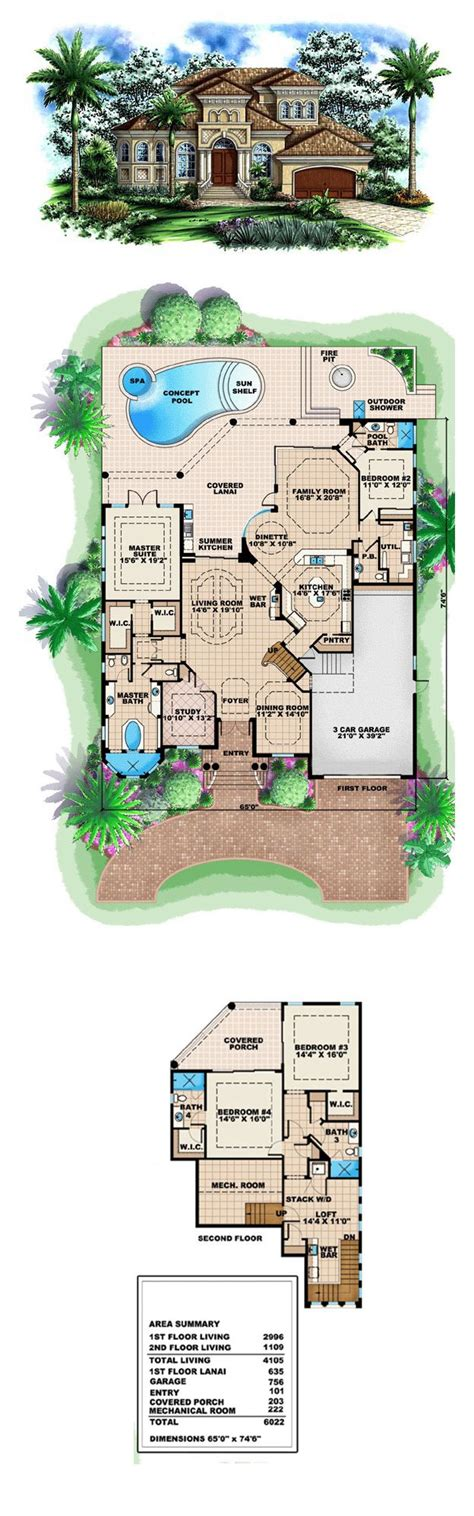 luxury home plans with pools design fancy pool house floor