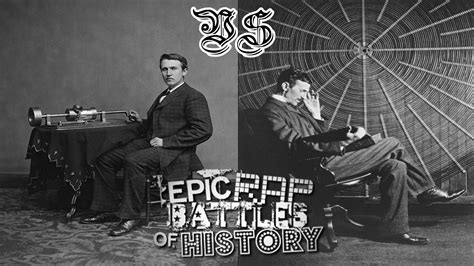 Edison Vs Tesla Nikola Tesla Vs Edison Erb 30 By Brunomu On