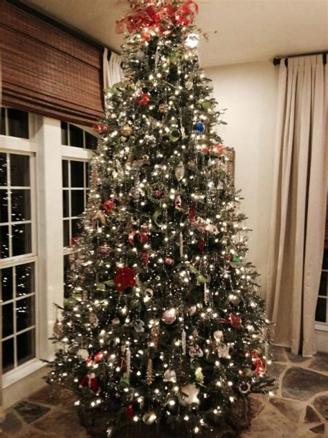 how many lights on a balsam hill tree full width fraser fir artificial christmas trees with easy